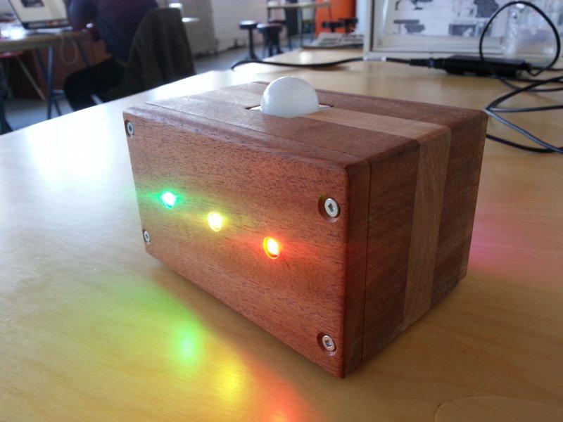 Motion Detector Lamp