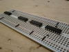 Soldered breadboard preparation