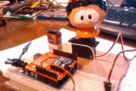 Wireless Arduino/XBee Remote Control with Compass and Accelerometer