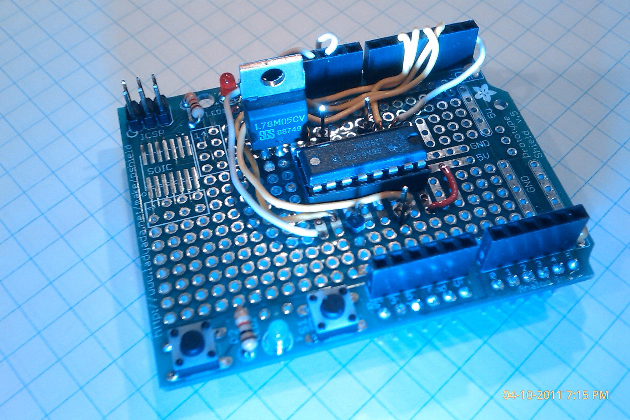 Arduino Motor Controller Using An L293d Chip Basbrun Com