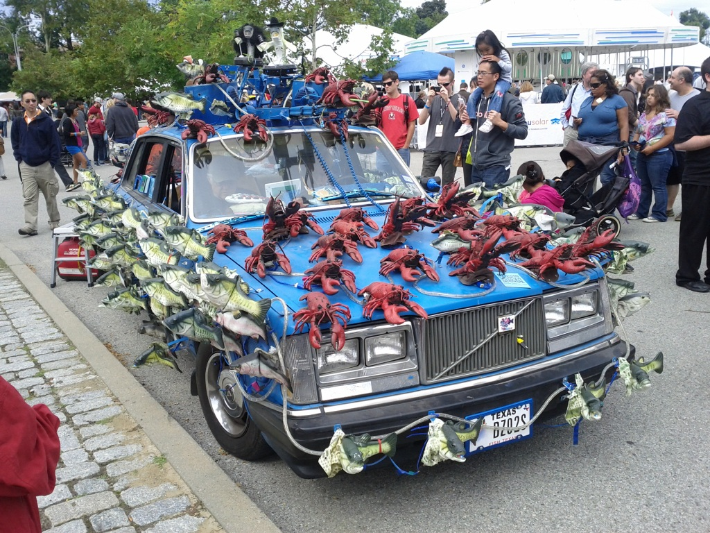 Fish/Lobsters Car