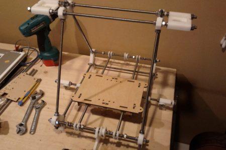Building a Prusa Mendel 3D Printer