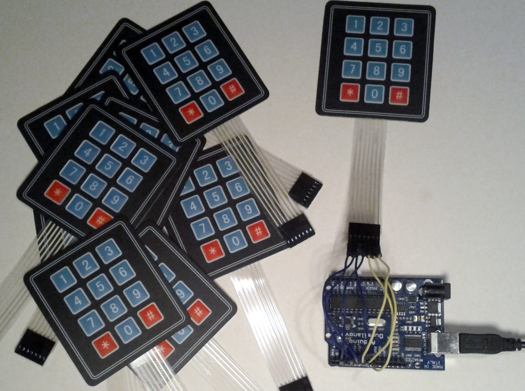 Cheap Keypad and Arduino