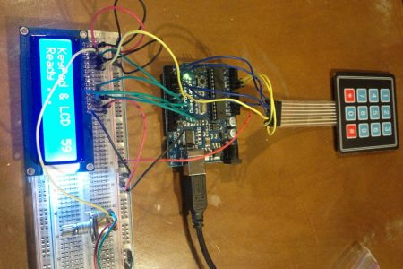 Keypad & LCD Display