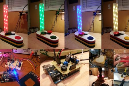 RGB Lamp Controlled by RFID Tags Built As An Arduino Shield