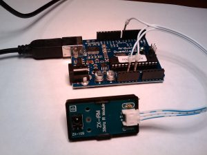 Arduino and IR receiver