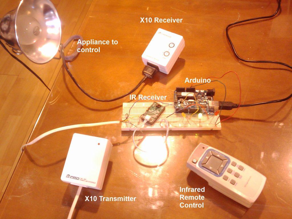 Arduino, IR and X10