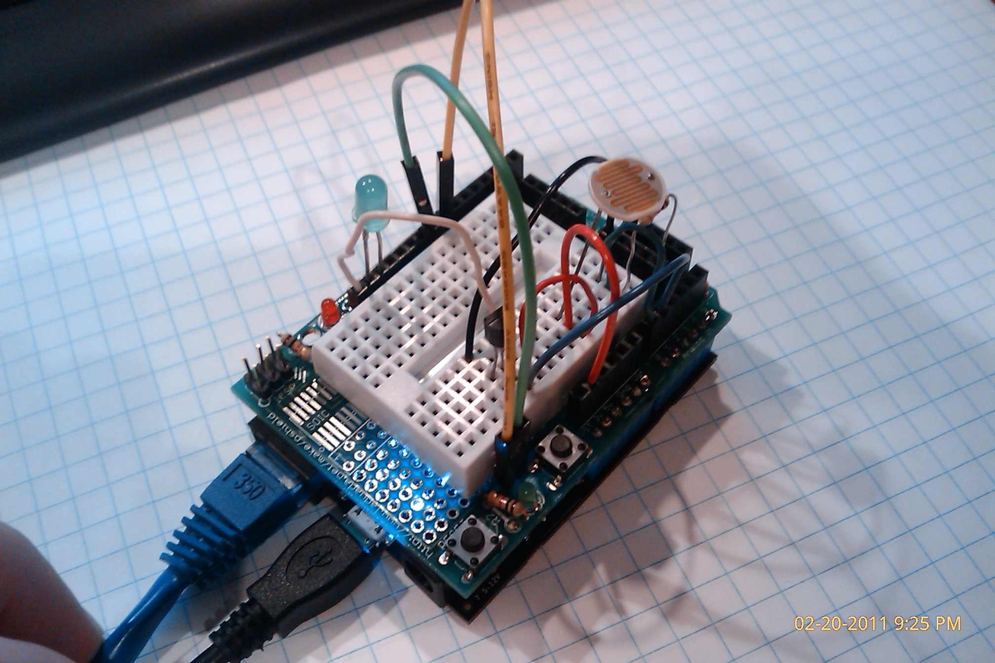 Netduino Plus with Arduino Protoshield