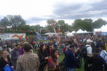 The Maker Faire World in New York