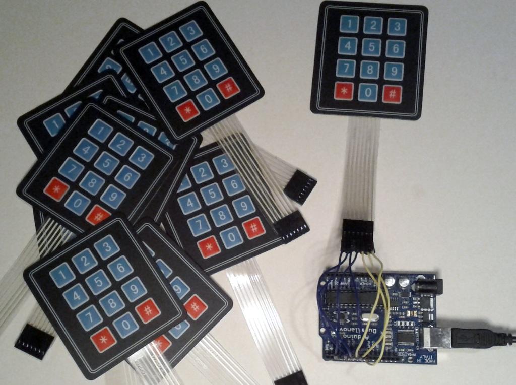 Cheap Keypad and Arduino