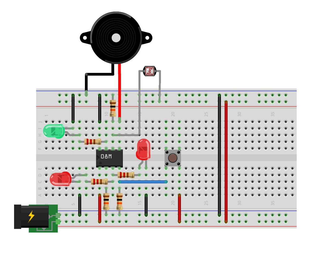 Scary Monkey Circuit