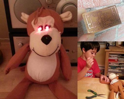 """""""Scary"""" Stuffed Monkey Project"""