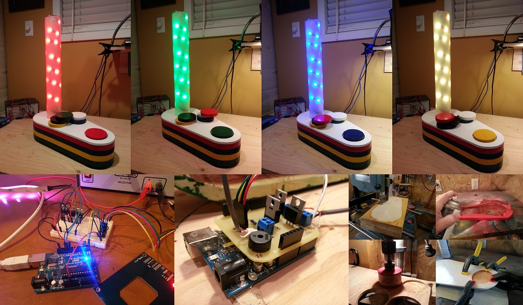 RGB / RFID Lamp Project
