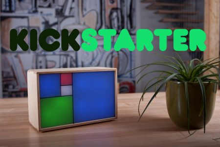 Fibonacci Clock on Kickstarter